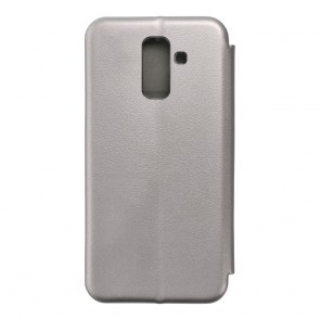 Book Forcell Elegance for  SAMSUNG A6 Plus 2018 grey