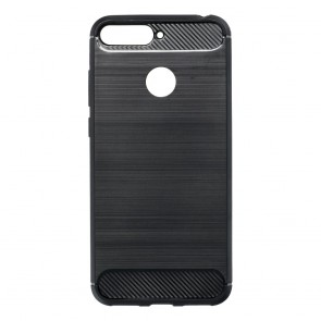 Forcell CARBON Case for HUAWEI Y6 PRIME 2018 black