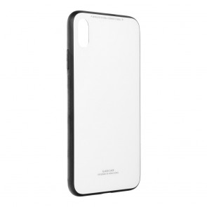 """GLASS Case for IPHONE XS Max ( 6,5"""" ) white"""