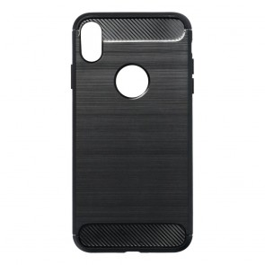 "Forcell CARBON Case for IPHONE XS Max ( 6,5"" ) black"