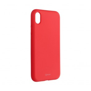 Roar Colorful Jelly Case - for Iphone XR  peach pink