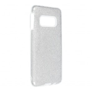 Forcell SHINING Case for SAMSUNG Galaxy S10e silver