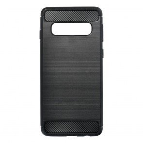 Forcell CARBON Case for SAMSUNG Galaxy S10 black