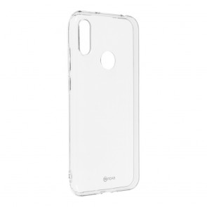 Jelly Case Roar - for Huawei Y6 2019 / Y6 Prime 2019 transparent