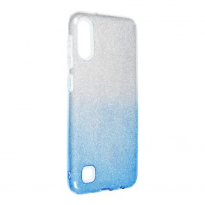 Forcell SHINING Case for SAMSUNG Galaxy A10 clear/blue