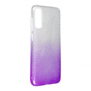 Forcell SHINING Case for SAMSUNG Galaxy A70 / A70s clear/violet