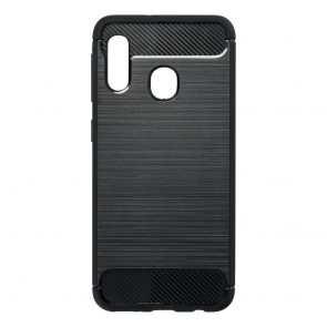 Forcell CARBON Case for SAMSUNG Galaxy A20E black