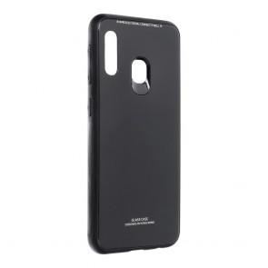 GLASS Case for SAMSUNG Galaxy A20E black