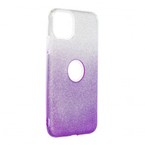 """Forcell SHINING Case for IPHONE 11 PRO MAX ( 6.5"""" ) clear/violet"""