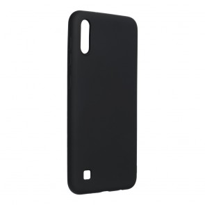 Forcell SILICONE LITE Case for SAMSUNG Galaxy A12 black