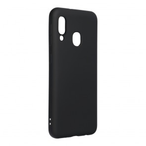 Forcell SILICONE LITE Case for SAMSUNG Galaxy A40 black