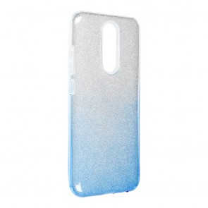 Forcell SHINING Case for XIAOMI Redmi 8 / Redmi 8A clear/blue
