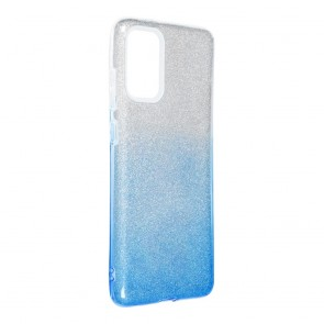 Forcell SHINING Case for SAMSUNG Galaxy S20 Plus / S11 clear/blue
