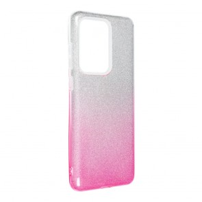 Forcell SHINING Case for SAMSUNG Galaxy S20 Ultra / S11 Plus clear/pink