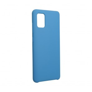 Forcell Silicone Case for SAMSUNG Galaxy A51 dark blue