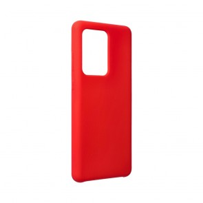 Forcell Silicone Case for SAMSUNG Galaxy S20 Ultra / S11 Plus red