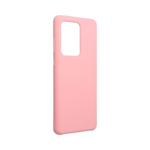 Forcell Silicone Case for SAMSUNG Galaxy S20 Ultra / S11 Plus pink