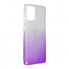Forcell SHINING Case for SAMSUNG Galaxy A71 clear/violet