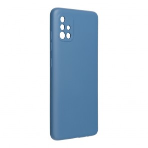 Forcell SILICONE LITE Case for SAMSUNG Galaxy A51 blue