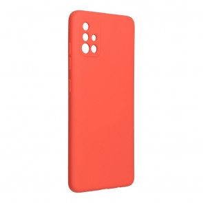 Forcell SILICONE LITE Case for SAMSUNG Galaxy A51 pink