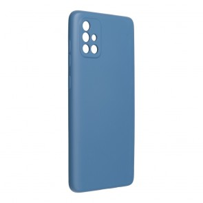 Forcell SILICONE LITE Case for SAMSUNG Galaxy A72 blue