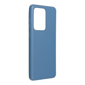 Forcell SILICONE LITE Case for SAMSUNG Galaxy S21 Ultra blue