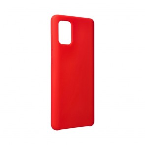 Forcell Silicone Case for SAMSUNG Galaxy A71 red