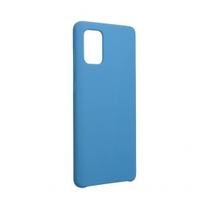 Forcell Silicone Case for SAMSUNG Galaxy A72 LTE ( 4G ) / A72 5G dark blue