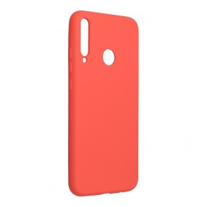 Forcell SILICONE LITE Case for HUAWEI P40 Lite E pink