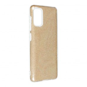 Forcell SHINING Case for SAMSUNG Galaxy A41 gold