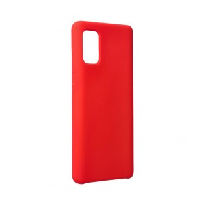 Forcell Silicone Case for SAMSUNG Galaxy A41 red