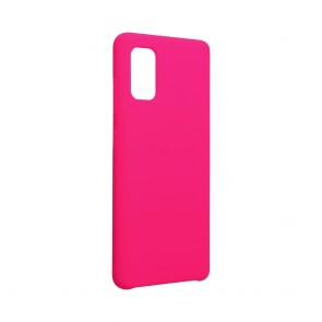 Forcell Silicone Case for SAMSUNG Galaxy A41 hot pink