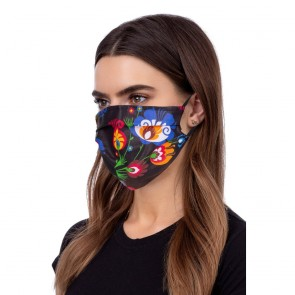 Face mask folklore black
