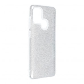 Forcell SHINING Case for SAMSUNG Galaxy A21S silver