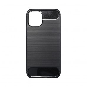 Forcell CARBON Case for IPHONE 12 MINI black