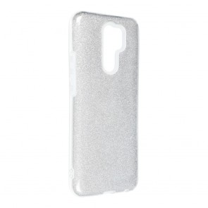 Forcell SHINING Case for XIAOMI Redmi 9 silver