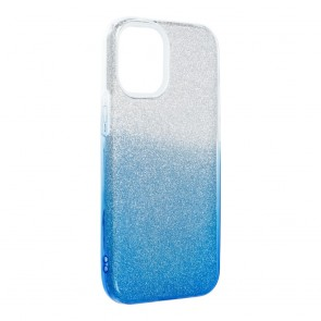 Forcell SHINING Case for IPHONE 12 MINI clear/blue