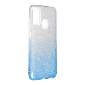 Forcell SHINING Case for HUAWEI P SMART 2020 clear/blue