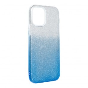 Forcell SHINING Case for IPHONE 12 / 12 PRO clear/blue