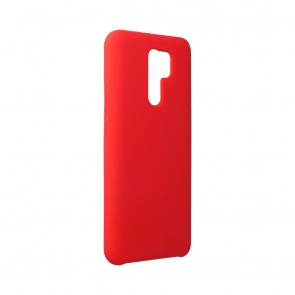 Forcell Silicone Case for Xiaomi Redmi 9 red