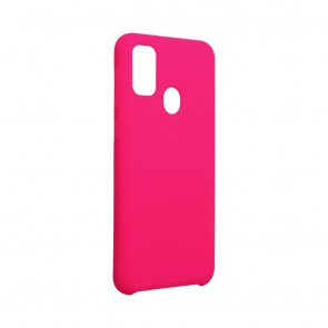 Forcell Silicone Case for SAMSUNG Galaxy M21 hot pink