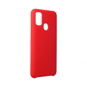 Forcell Silicone Case for SAMSUNG Galaxy M21 red