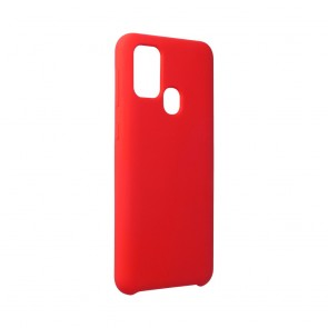 Forcell Silicone Case for SAMSUNG Galaxy M31 red