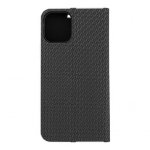 Forcell LUNA Book Carbon for iPhone 12 / 12 PRO black
