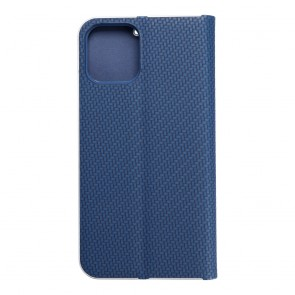 Forcell LUNA Book Carbon for iPhone 12 / 12 PRO blue