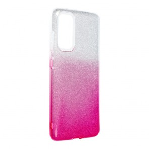 Forcell SHINING Case for SAMSUNG Galaxy S20 FE / S20 FE 5G clear/pink