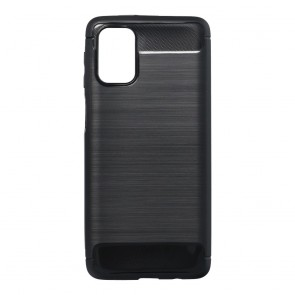 Forcell CARBON Case for SAMSUNG Galaxy M31s black