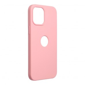 Forcell Silicone Case for IPHONE 12 PRO MAX pink (with hole)