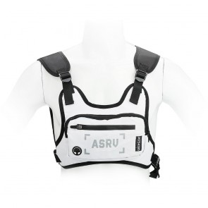 "Sports bag on chest for mobile phone / keys etc white ( 4,5"" - 6,5"" )"