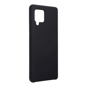 Forcell Silicone Case for SAMSUNG Galaxy A42 5G black